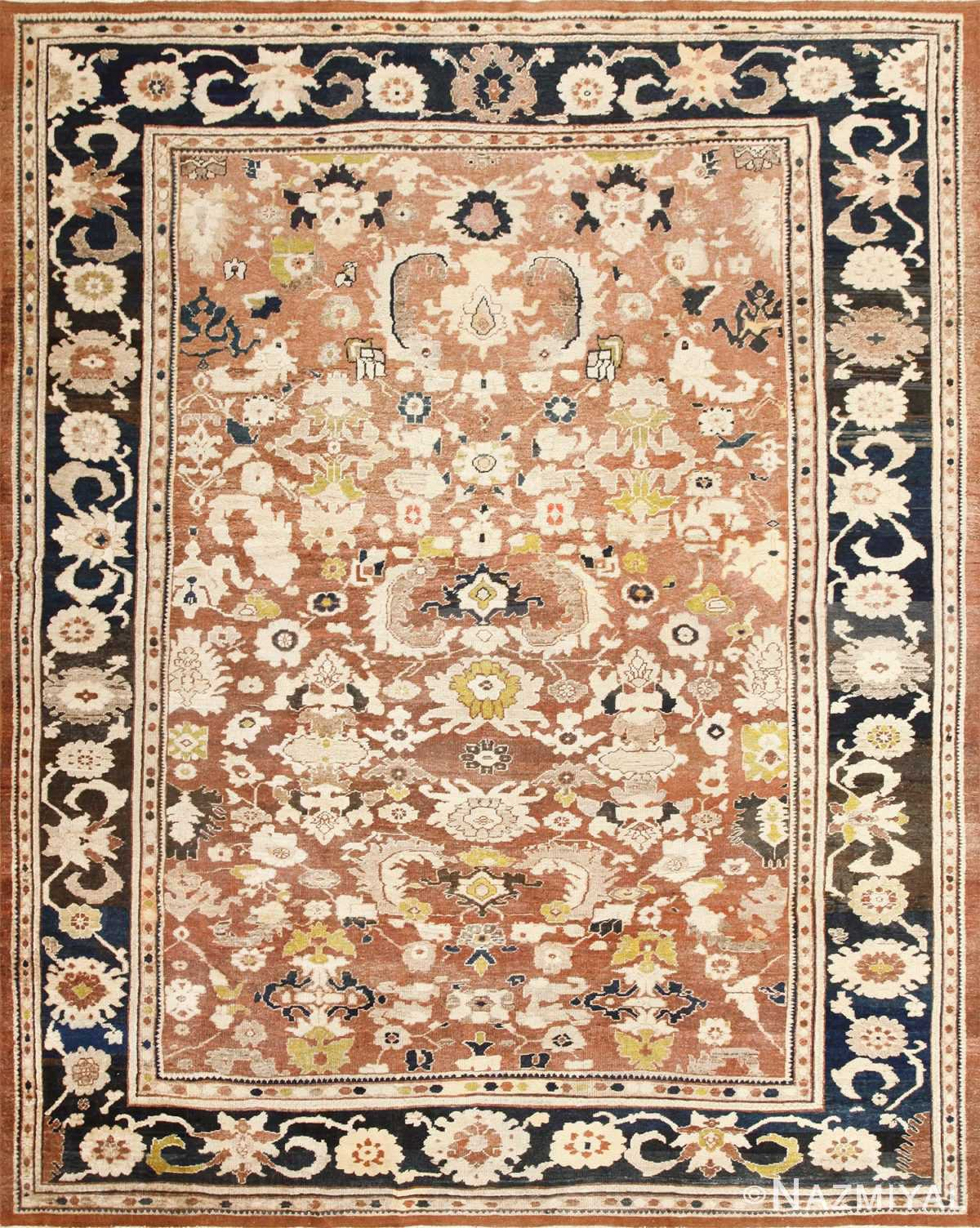 Decorative Antique Persian Sultanabad Rug 48093 Nazmiyal