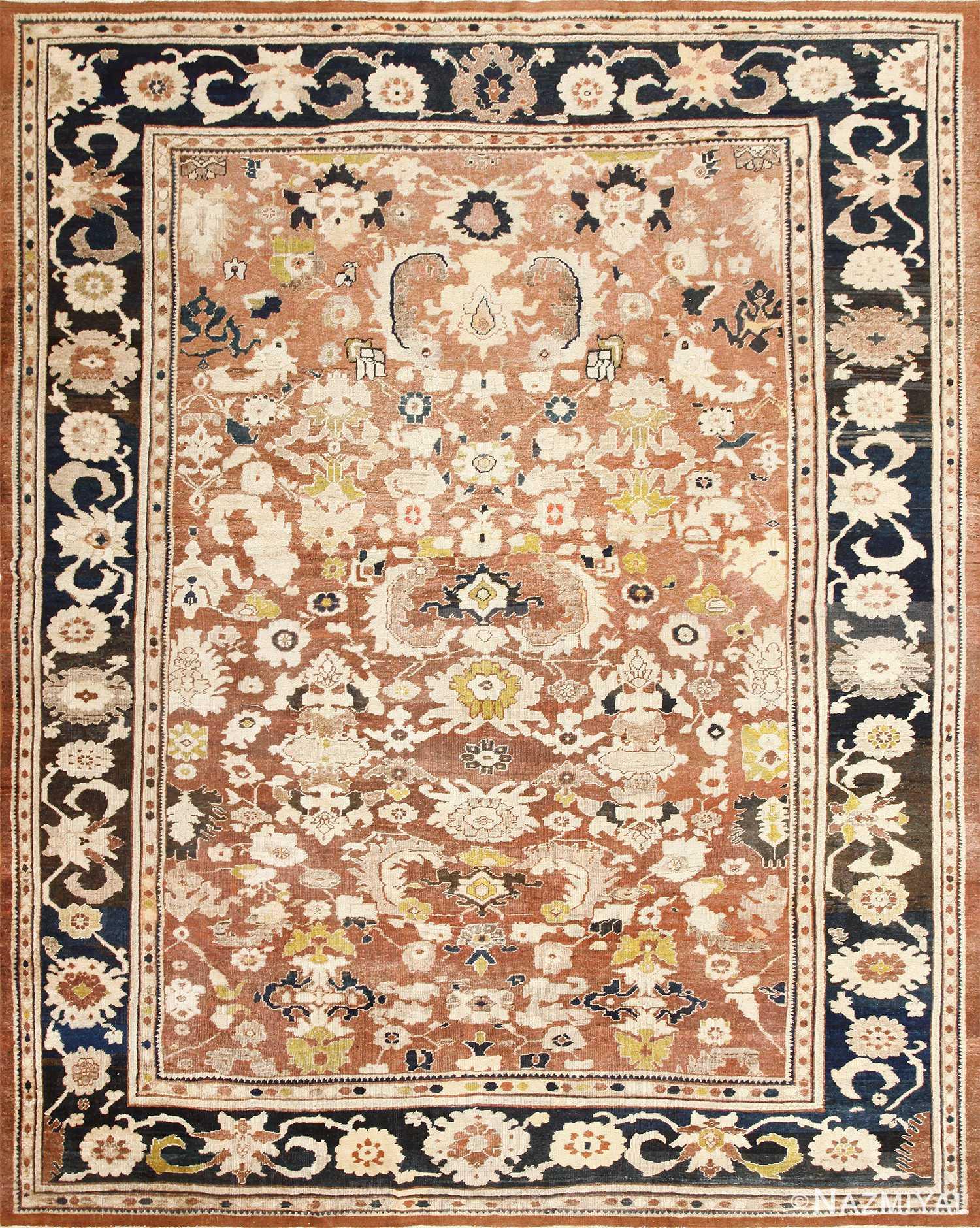 Decorative Antique Persian Sultanabad Rug 48093 Nazmiyal
