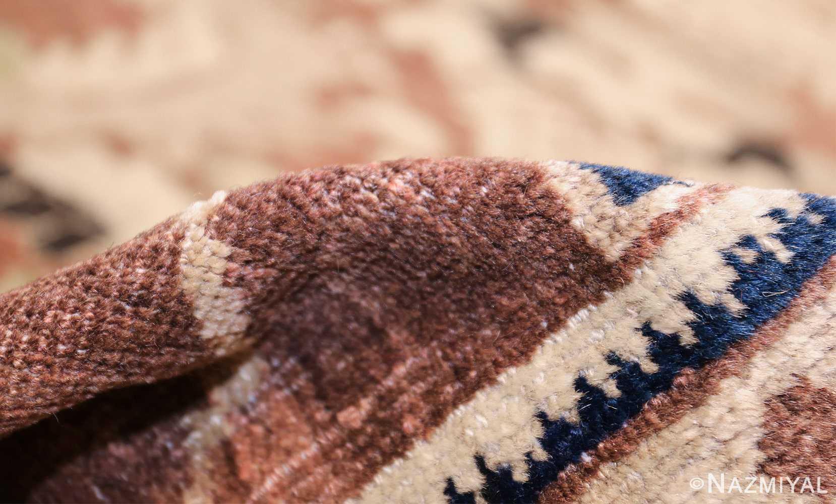 decorative antique persian sultanabad rug 48093 pile Nazmiyal