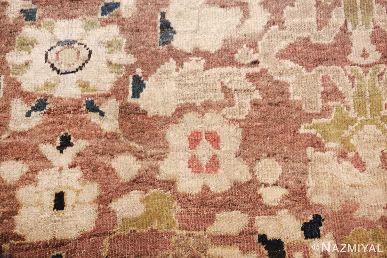 decorative antique persian sultanabad rug 48093 rose Nazmiyal