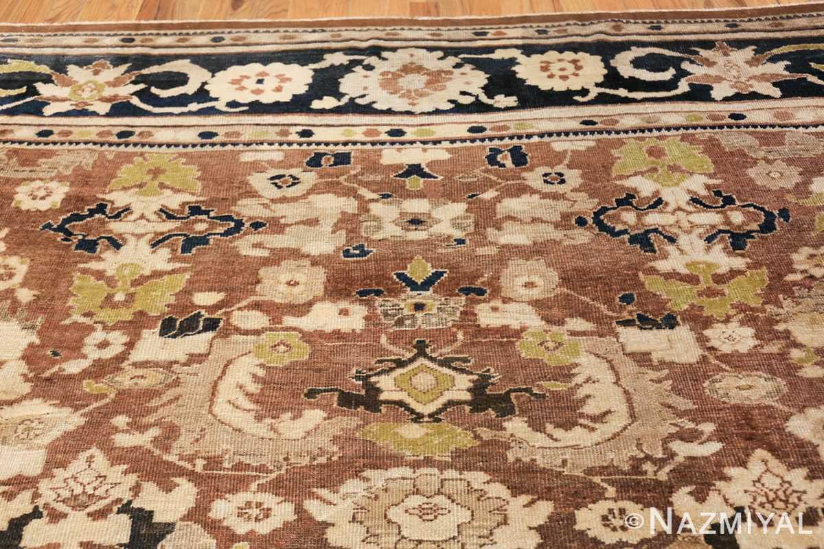 decorative antique persian sultanabad rug 48093 rose Nazmiyal