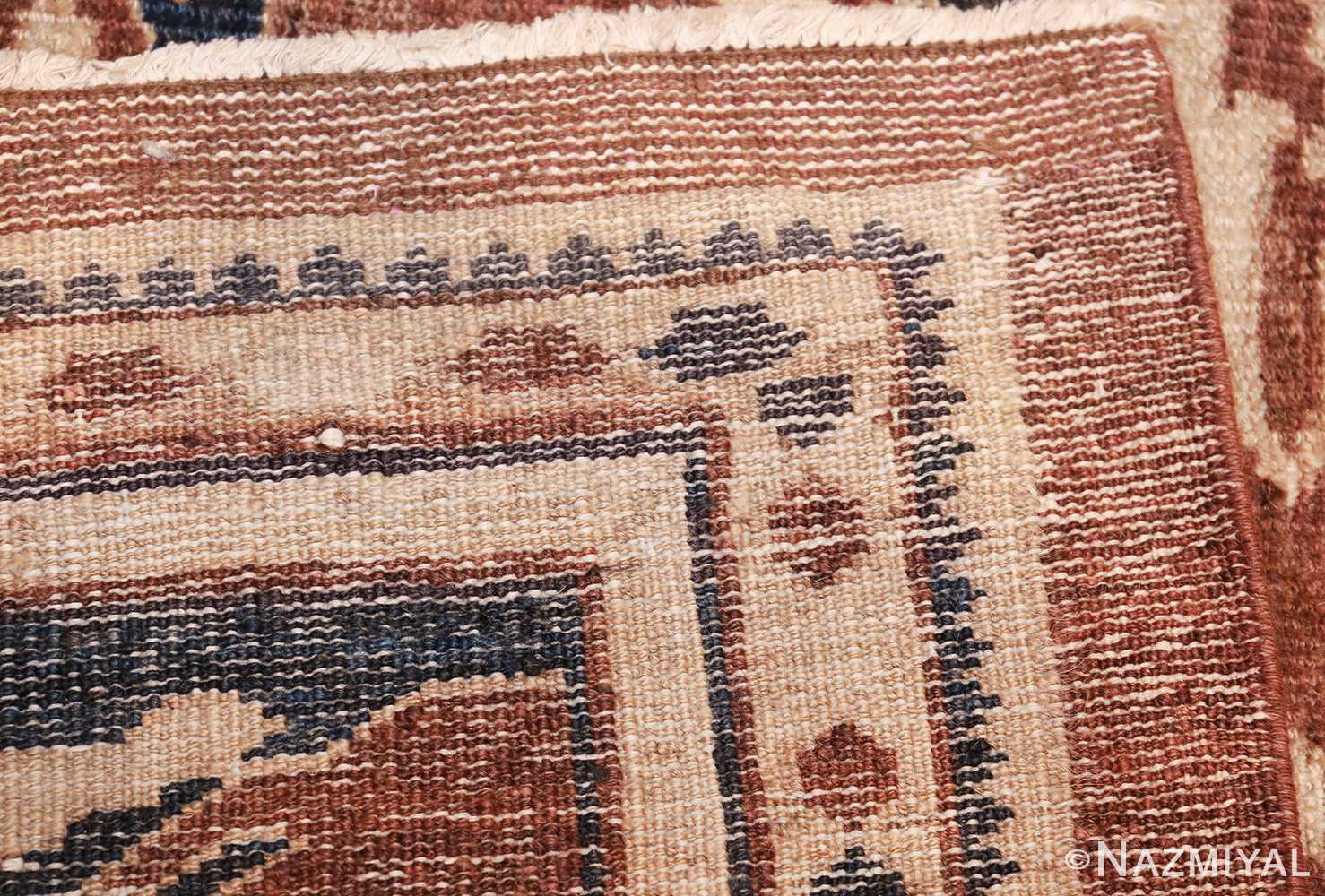 decorative antique persian sultanabad rug 48093 weave Nazmiyal