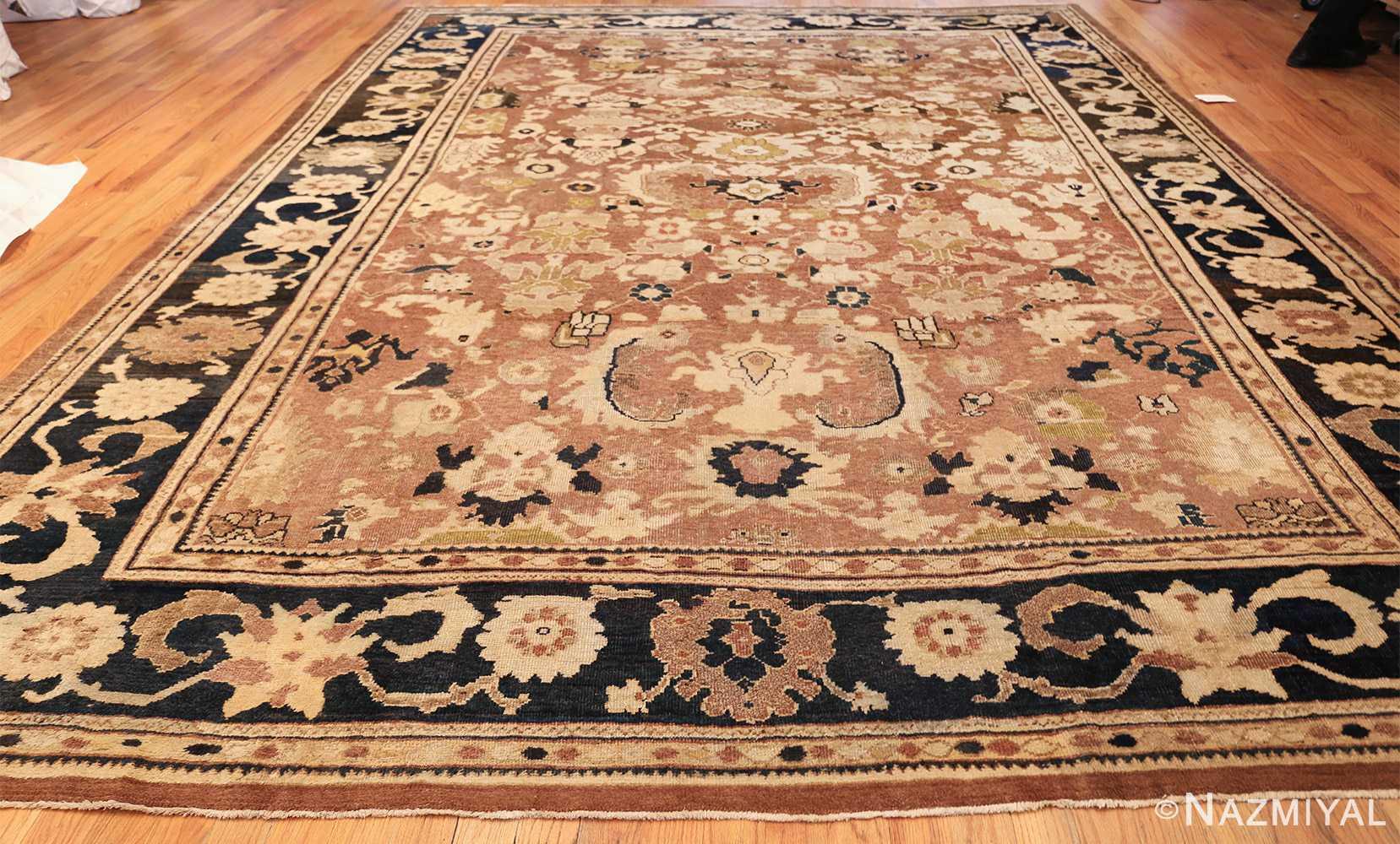 decorative antique persian sultanabad rug 48093 whole Nazmiyal