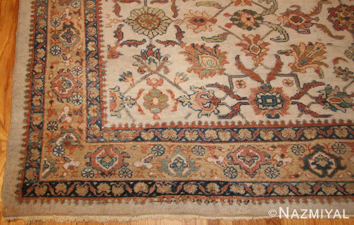 decorative antique persian sultanabad rug 50483 corner Nazmiyal