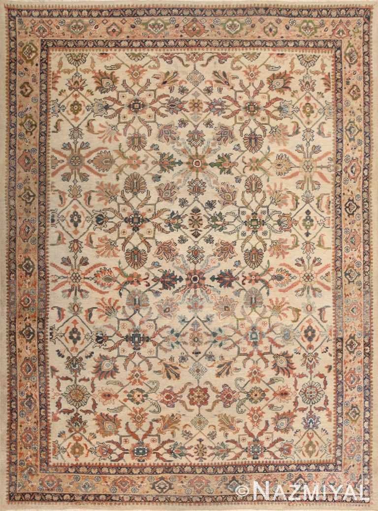 Decorative Antique Persian Sultanabad Rug 50483 Nazmiyal