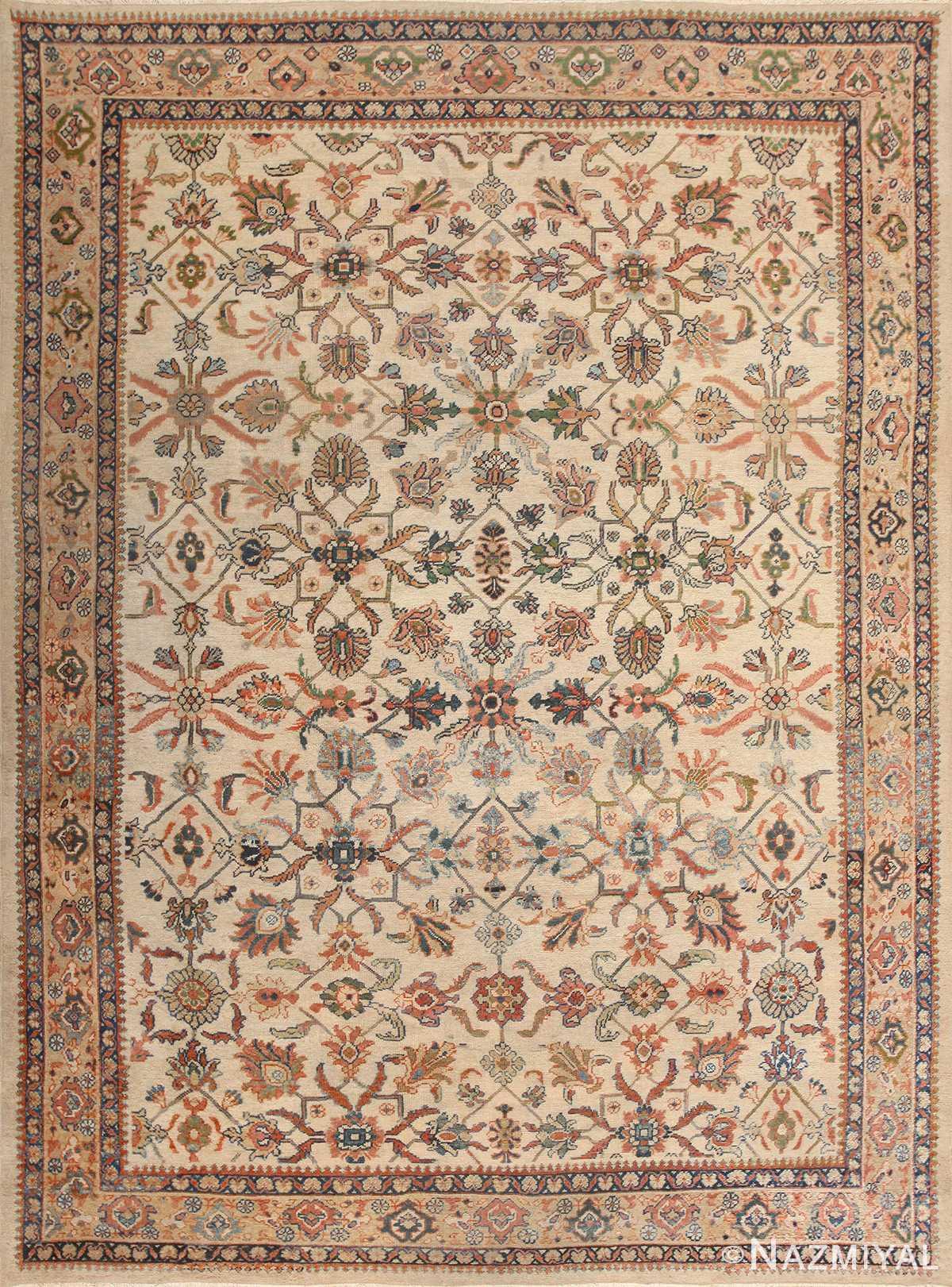 Decorative Antique Persian Sultanabad Rug 50483 Nazmiyal