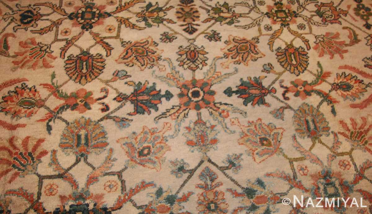 decorative antique persian sultanabad rug 50483 field Nazmiyal