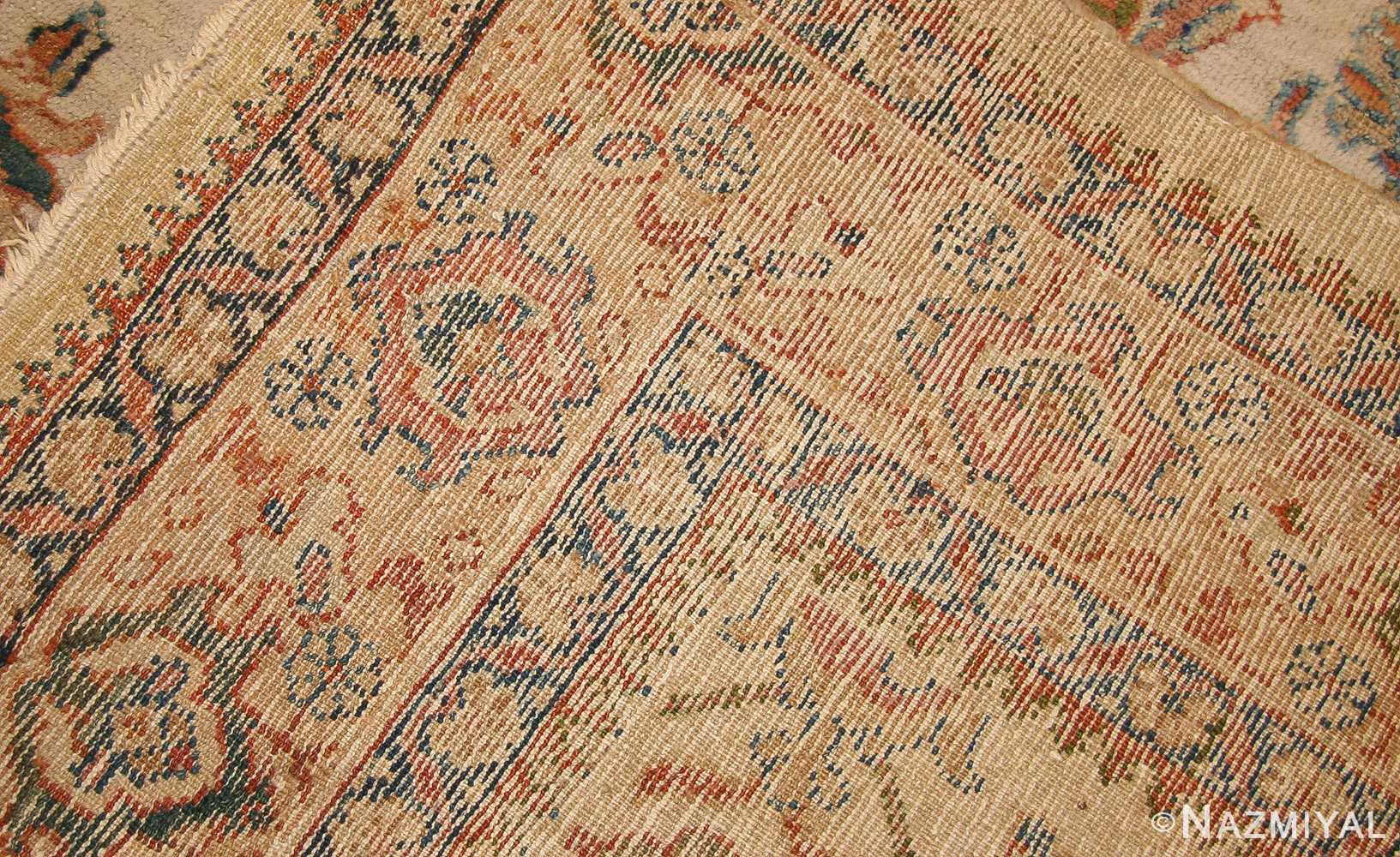 decorative antique persian sultanabad rug 50483 weave Nazmiyal