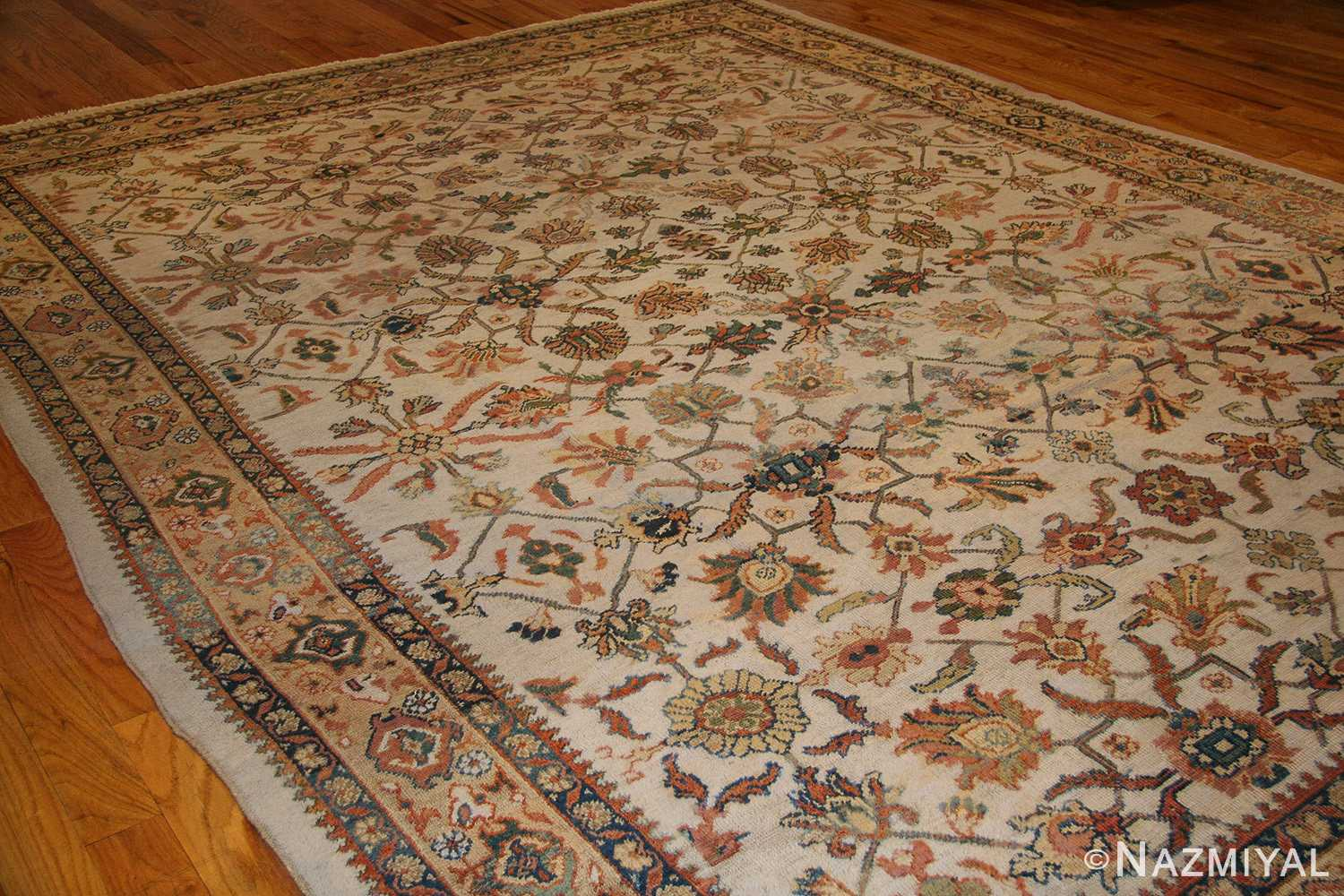 decorative antique persian sultanabad rug 50483 whole Nazmiyal