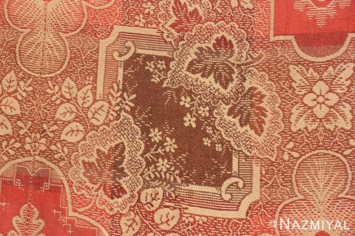 Detail large all over design antique American Ingrain rug 50460 by Nazmiyal