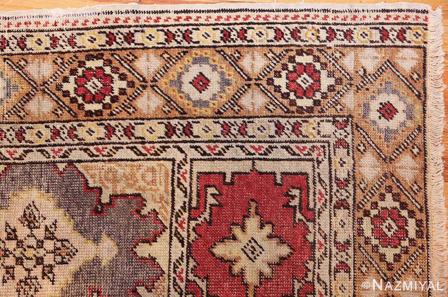 family prayer antique turkish ghiordes rug 50501 corner Nazmiyal
