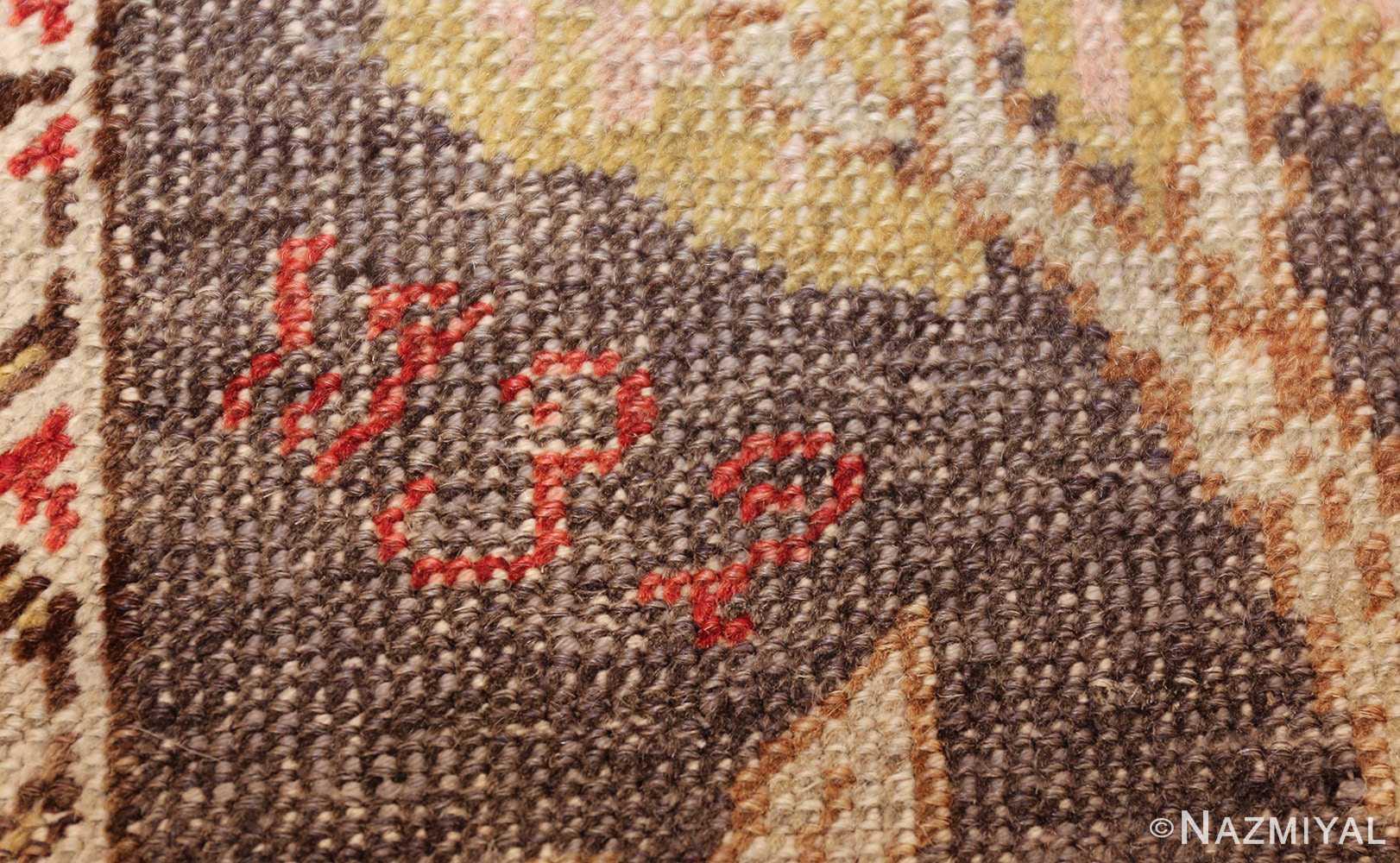 family prayer antique turkish ghiordes rug 50501 date Nazmiyal