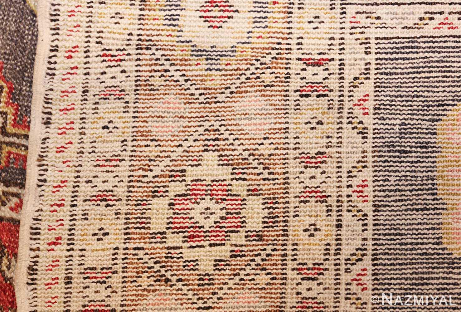 family prayer antique turkish ghiordes rug 50501 weave Nazmiyal