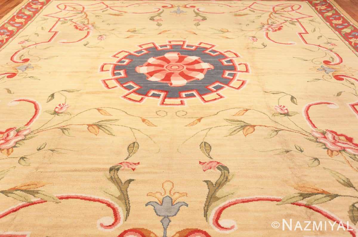 Field Antique French rug 50471 by Nazmiyal