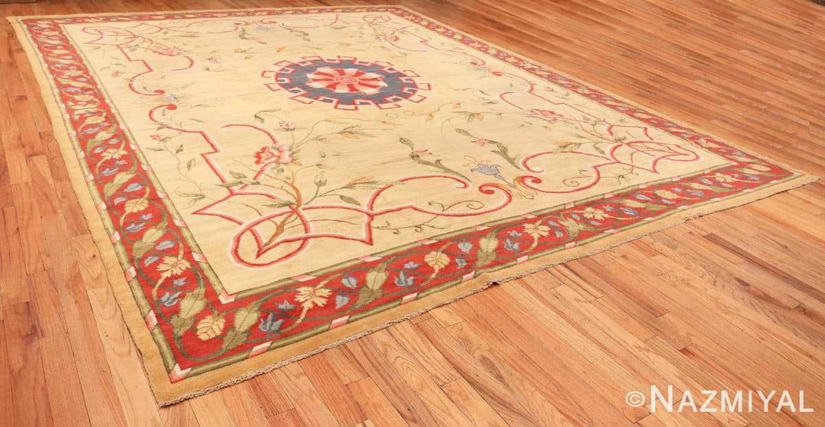 Full Antique French rug 50471 by Nazmiyal