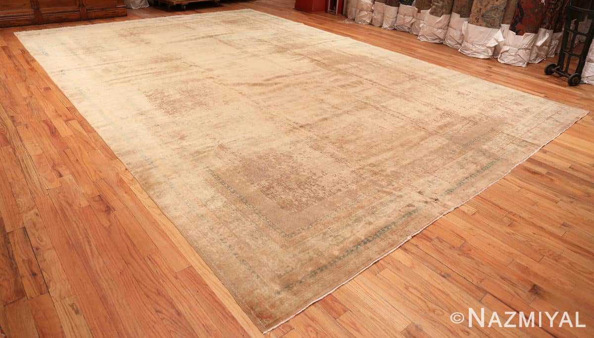 Full Large Antique Indian rug 50449 by Nazmiyal