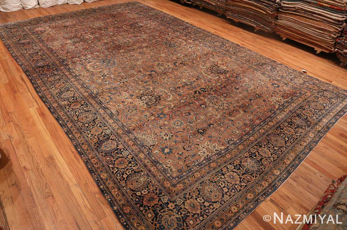Full picture of Large Antique Oversize Persian Kerman Rug #50462 from Nazmiyal Antique Rugs in NYC