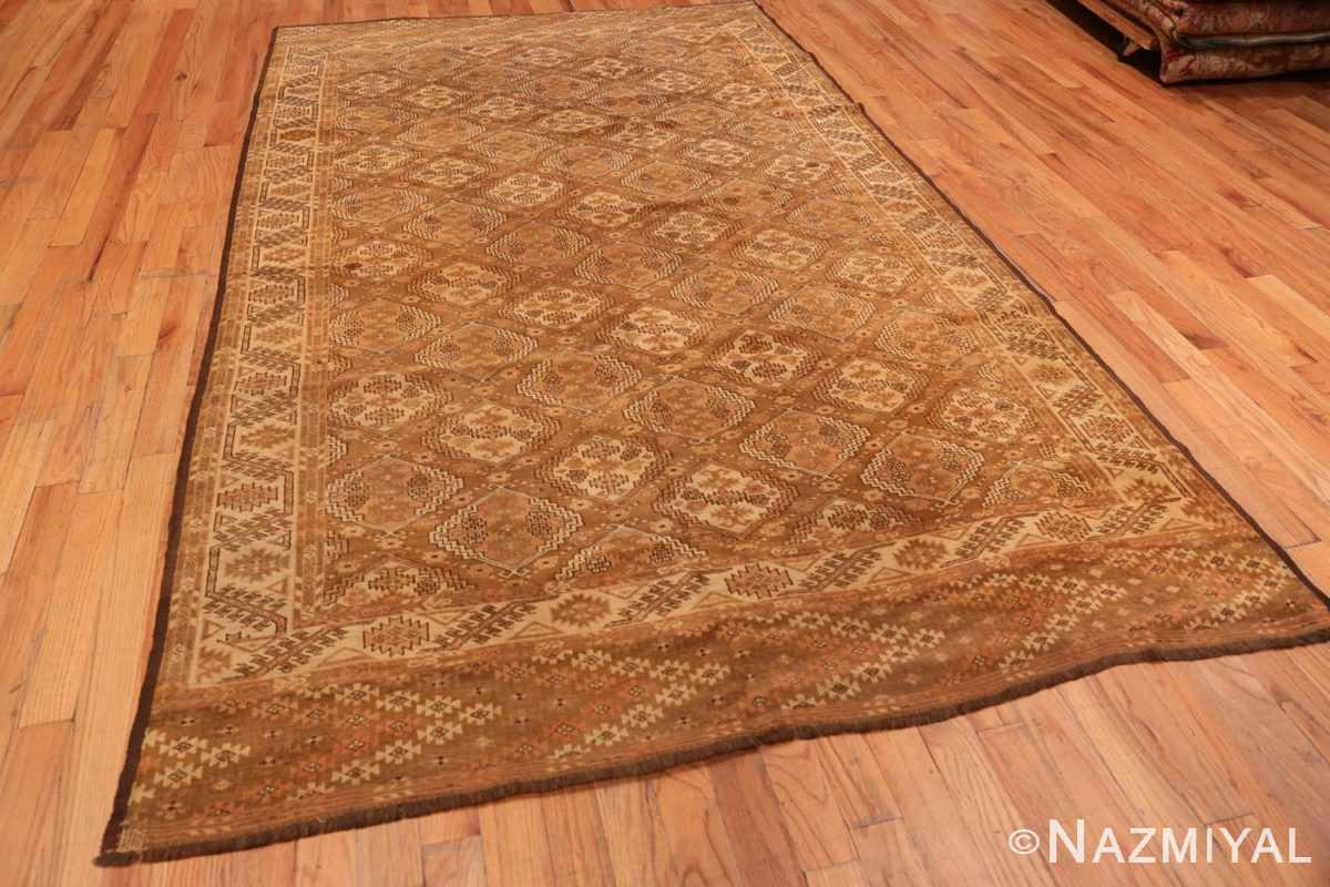 Full long and narrow vintage tribal Afghan rug 50500 by Nazmiyal