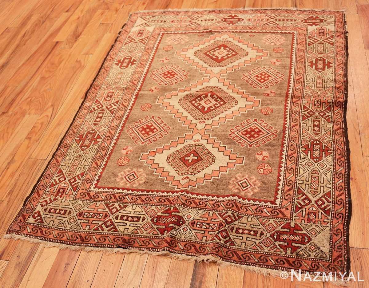 Full Tribal Vintage Caucasian Kazak rug 50519 by Nazmiyal