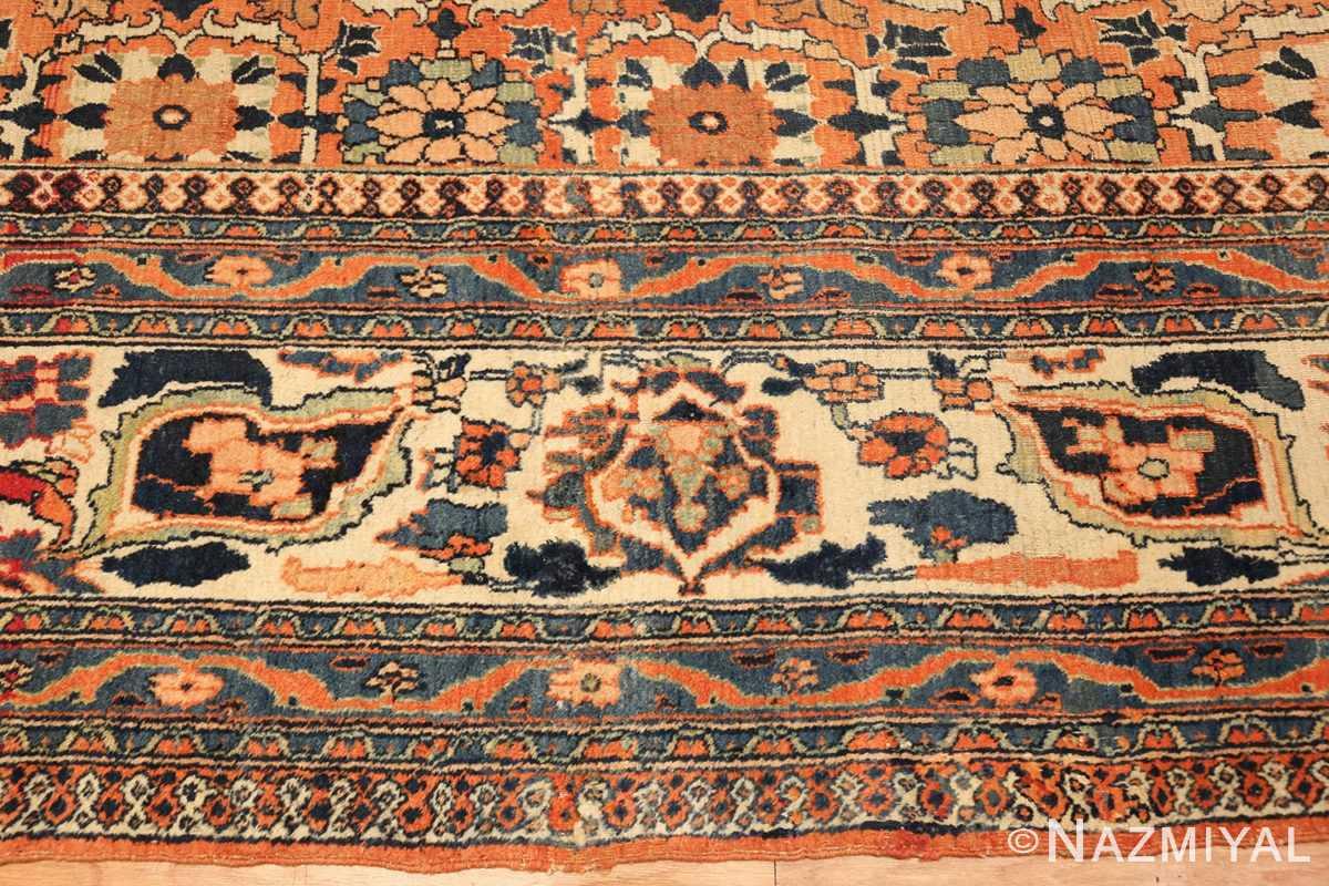 gallery size antique persian khorassan rug 50459 border Nazmiyal