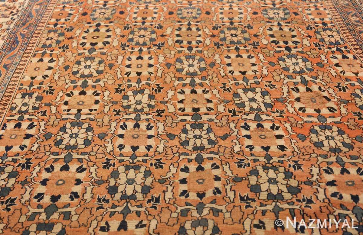 gallery size antique persian khorassan rug 50459 feild Nazmiyal