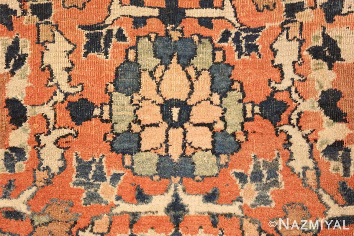 gallery size antique persian khorassan rug 50459 pink Nazmiyal