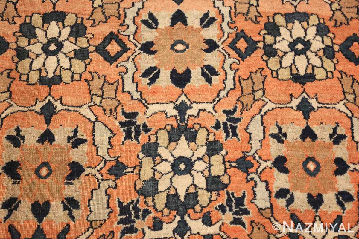 gallery size antique persian khorassan rug 50459 white Nazmiyal