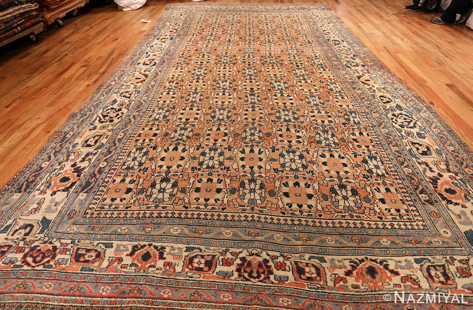 gallery size antique persian khorassan rug 50459 whole Nazmiyal