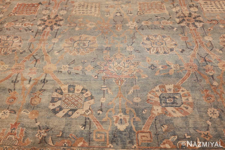 intricate vase design antique persian kerman rug 47410 abrash Nazmiyal