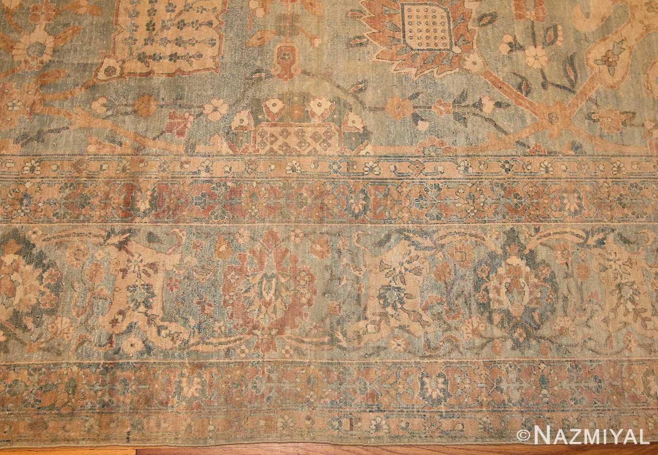 intricate vase design antique persian kerman rug 47410 border Nazmiyal