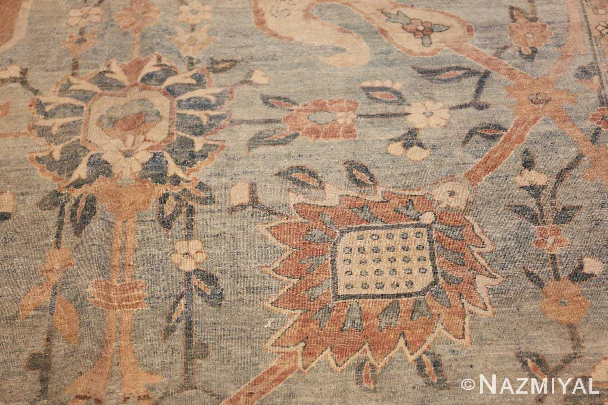 intricate vase design antique persian kerman rug 47410 brown Nazmiyal