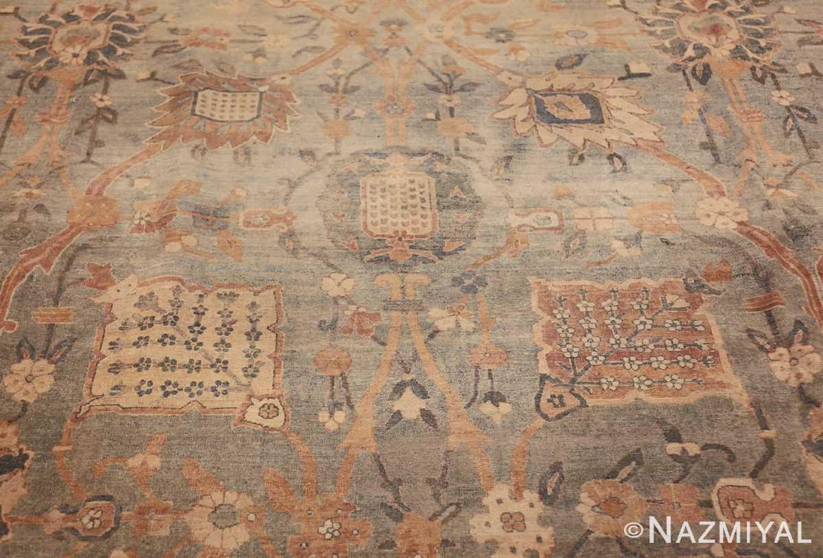 intricate vase design antique persian kerman rug 47410 center Nazmiyal