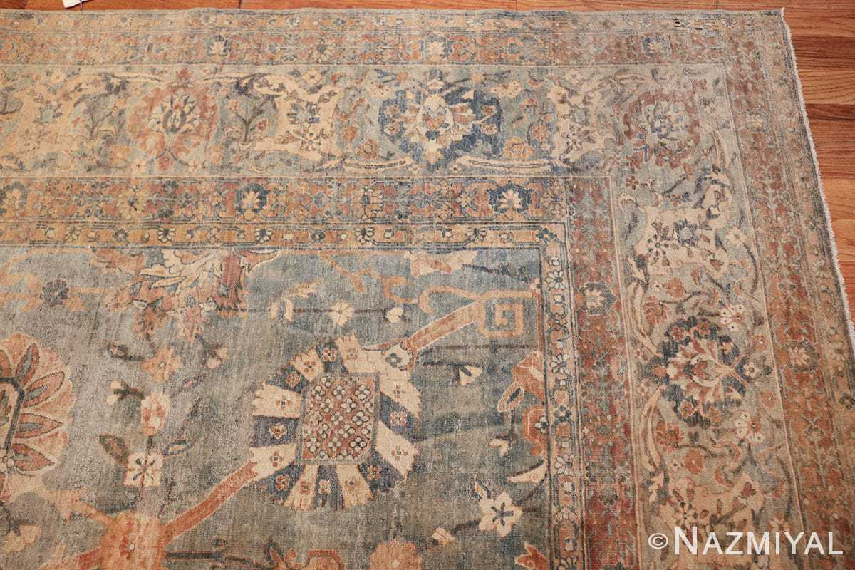 intricate vase design antique persian kerman rug 47410 corner Nazmiyal