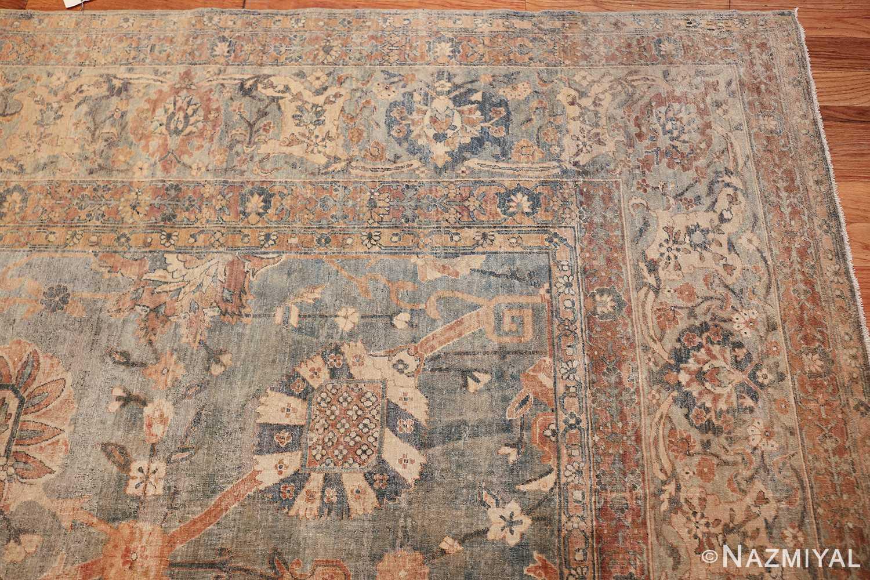 intricate vase design antique persian kerman rug 47410 corner Nazmiyal