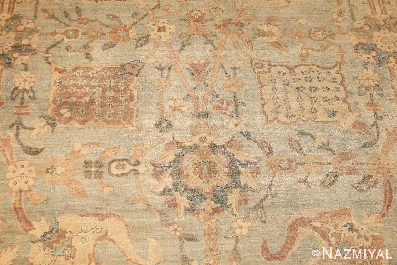 intricate vase design antique persian kerman rug 47410 field Nazmiyal