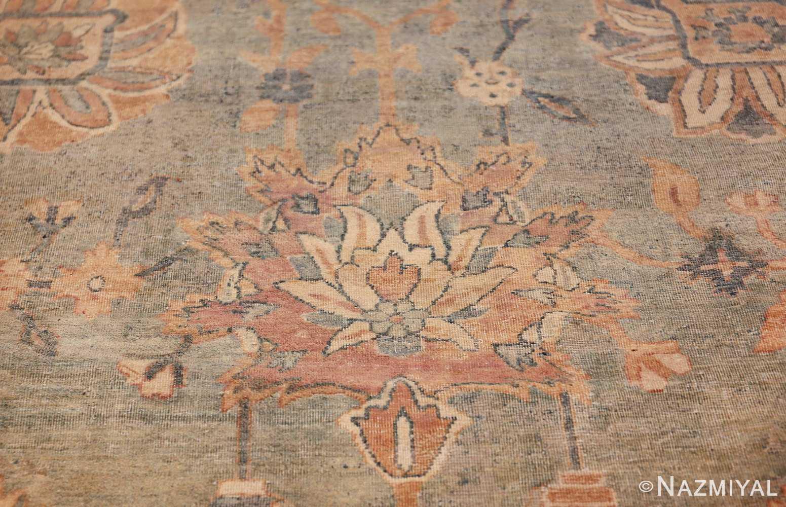 intricate vase design antique persian kerman rug 47410 pink Nazmiyal