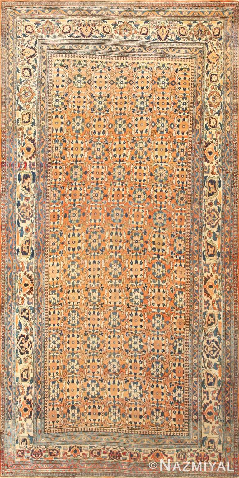 Large Antique Persian Khorassan Rug 50459 Nazmiyal