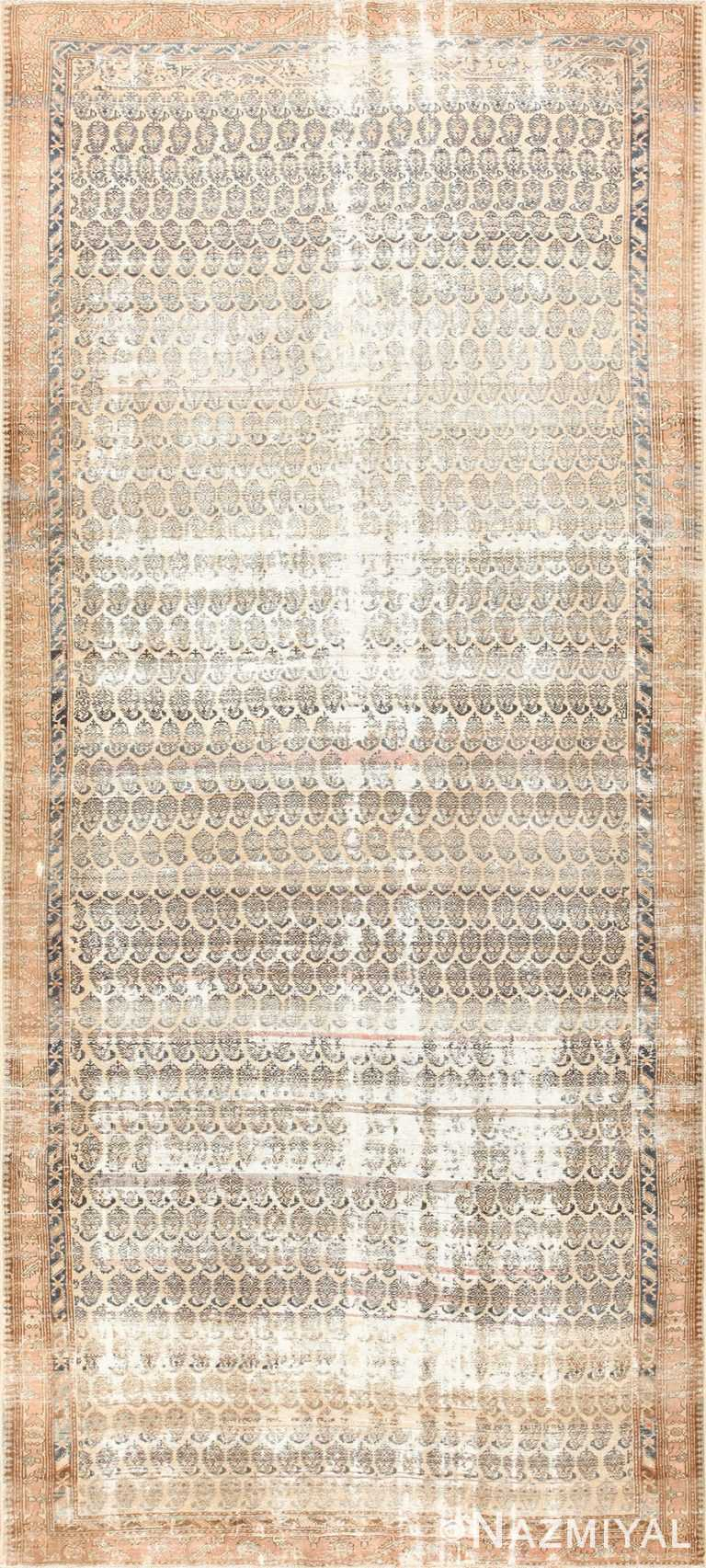 Long and Narrow Antique Persian Northwest Carpet 47261 Nazmiyal