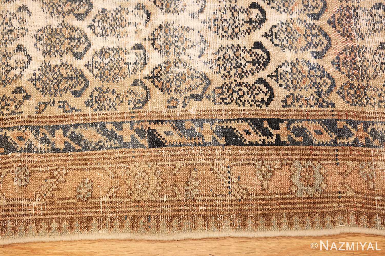 Long Shabby Chic Antique Persian Northwest Carpet 47261 Border Nazmiyal