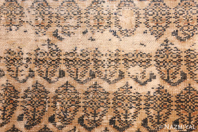 Long Shabby Chic Antique Persian Northwest Carpet 47261 Closeup Nazmiyal