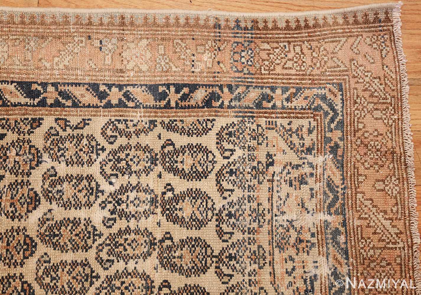 Long Shabby Chic Antique Persian Northwest Carpet 47261 Corner Nazmiyal