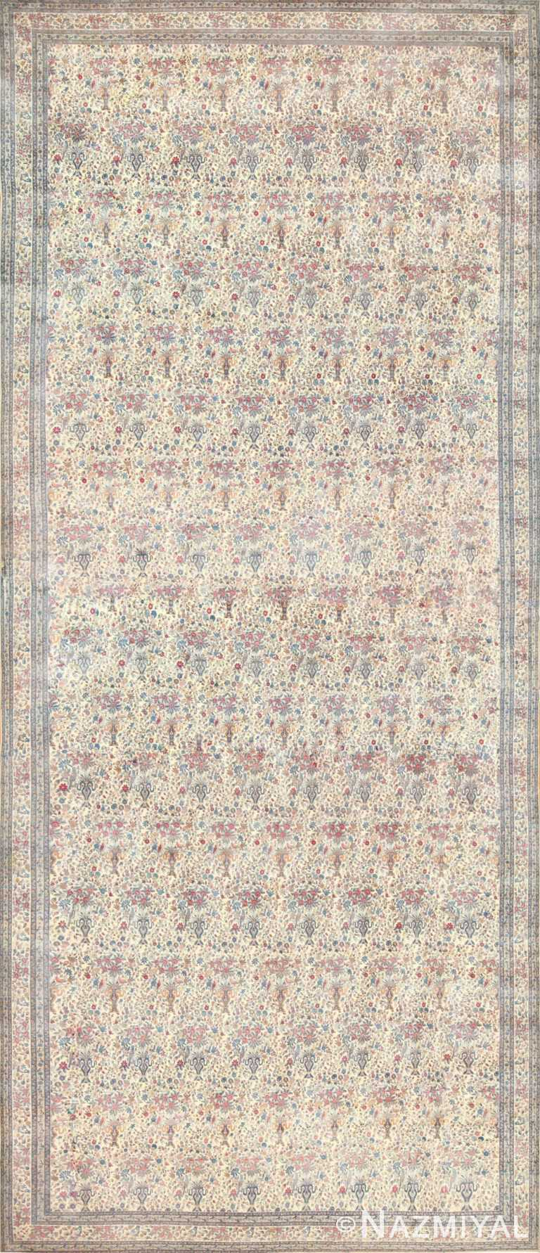Oversized Antique Persian Kerman Rug 48370 Nazmiyal