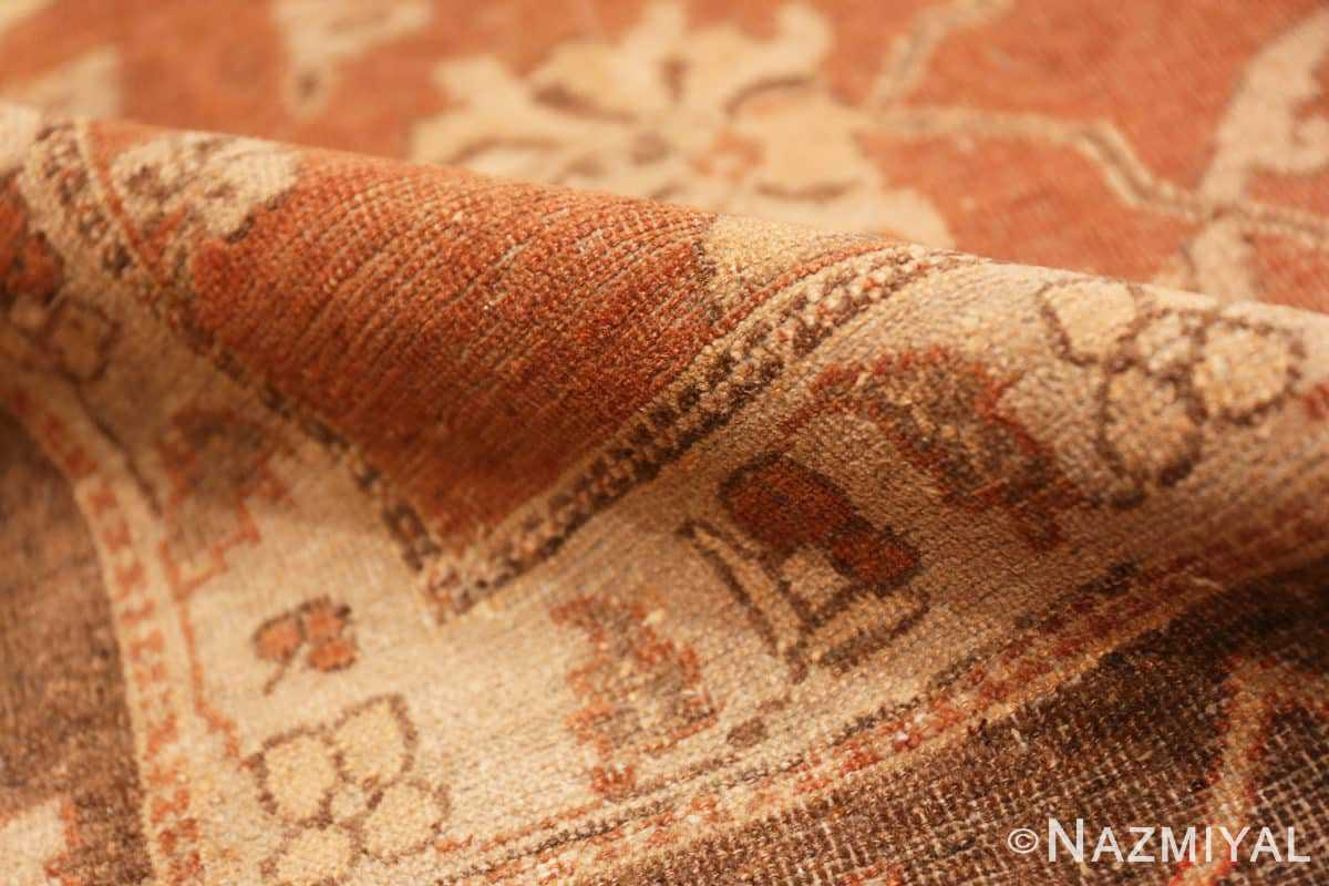 Pile Decorative Antique Indian Amritsar rug 50438 by Nazmiyal
