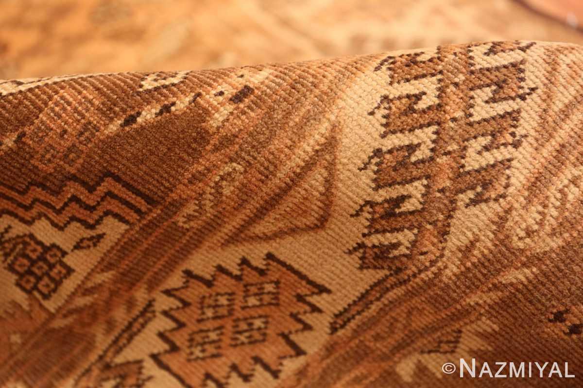 Pile long and narrow vintage tribal Afghan rug 50500 by Nazmiyal