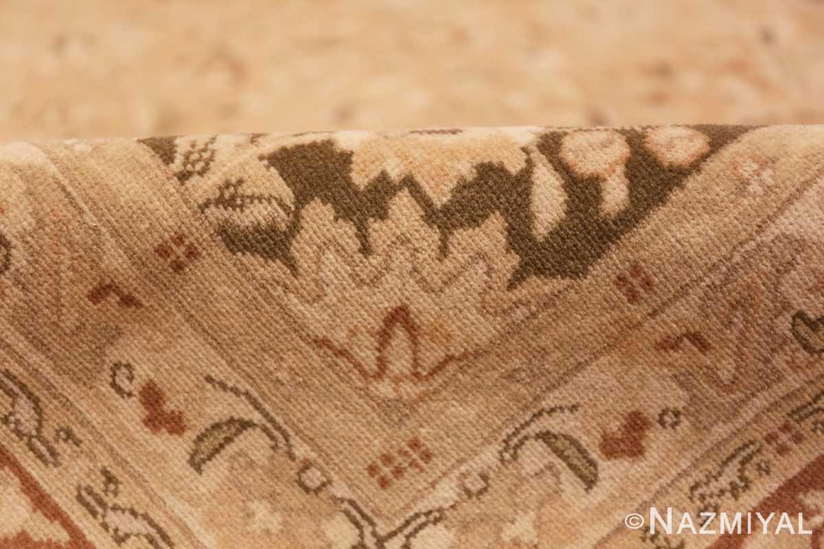 Pile Vintage Alabaster Persian Tabriz rug 50444 by Nazmiyal