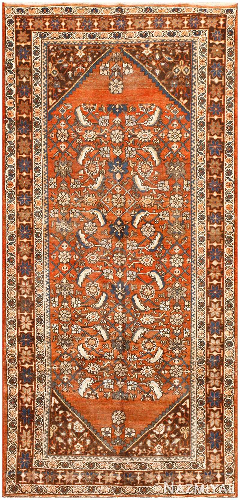 Scatter Size Vintage Persian Bidjar Rug 50487 Nazmiyal