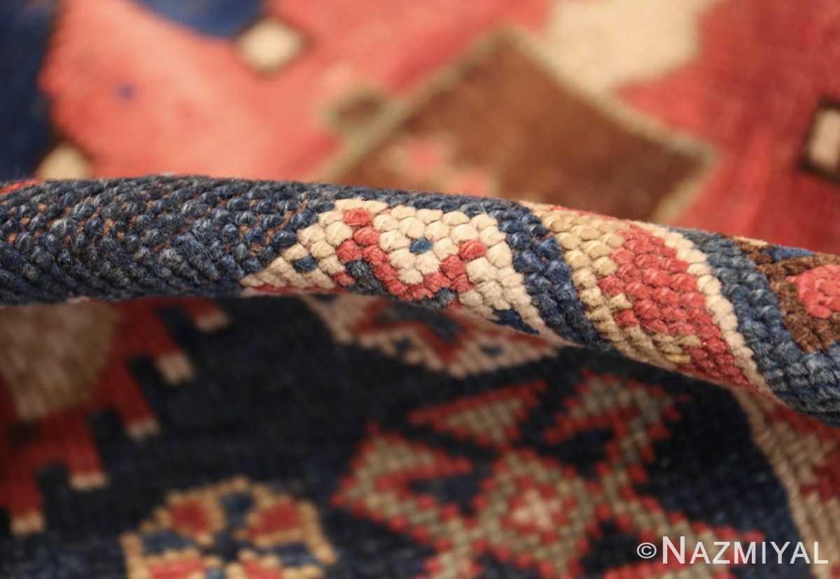 small antique caucasian kazak rug 48719 pile Nazmiyal