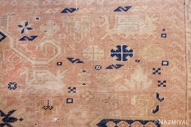 small decorative vintage caucasian carpet 48091 animal Nazmiyal