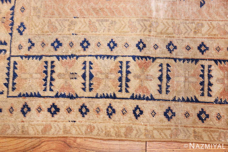 small decorative vintage caucasian carpet 48091 border Nazmiyal