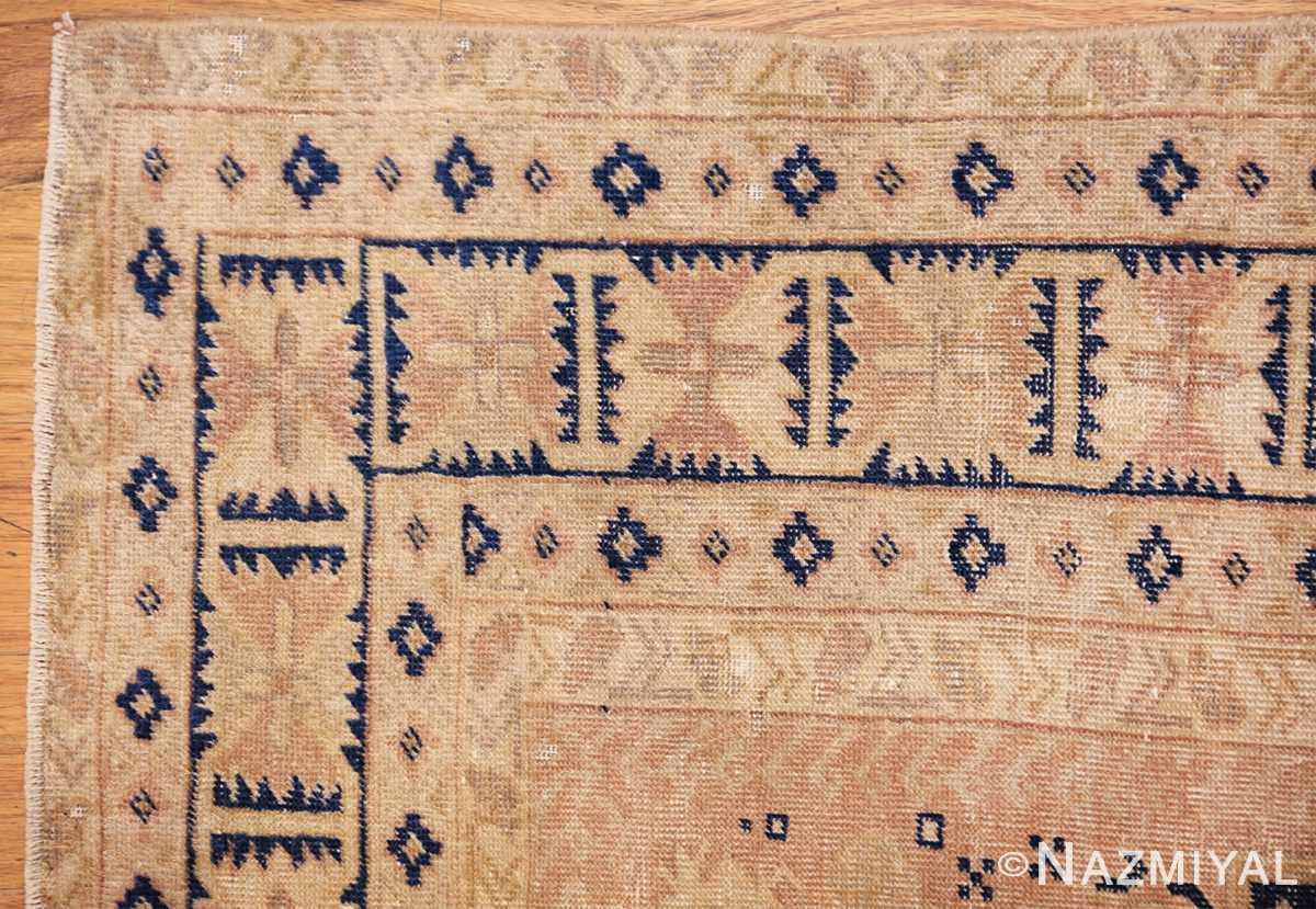 small decorative vintage caucasian carpet 48091 corner Nazmiyal